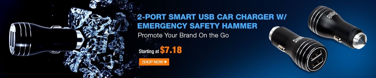 2-port-smart-usb-car-charger-w-emergency-safety-hammer-promote-your-brand-on-the-go-starting-at-718