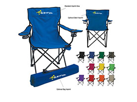 Promotional nylon-folding-chair-multiple-color-choices