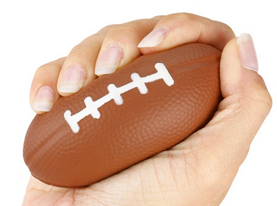 Promotional small-football-stress-reliever-3-12