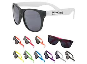 Promotional multi-color-custom-two-tone-matte-sunglasses