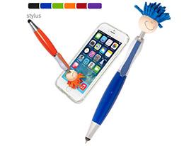 Promotional mop-topper-stylus-pen