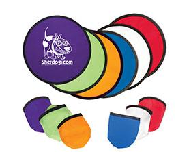 Promotional 10-custom-folding-flyer-frisbee