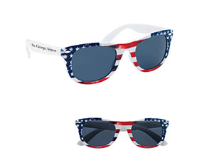 Promotional patriotic-malibu-sunglasses