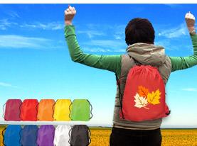Promotional cinch-up-backpack
