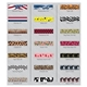 Promotional 3/4 Dye - Sublimated Polyester Lanyard w / Metal Crimp and Metal Split - ring Attachment