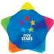 Promotional Starmark Highlighter - Translucent Blue Body