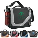 Promotional Polycanvas Bolt Urban Messenger Bag 13.5 X 12.25