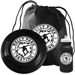 Promotional 3pc Custom Picnic Fun Kit With Flyer, Sports Bottle & Drawstring Bag