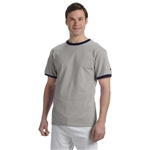 Promotional Champion 6.1 oz Tagless Ringer T - Shirt