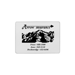 Promotional Insurance Card Holder - Single Pocket