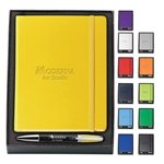 Promotional Melody 2-Tone Pen & NeoSkin® Journal Set