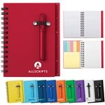 Promotional 4 X 5 50 Lined All-In-One Mini Notebook