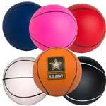 Promotional Basketball Squeezies Stress Reliever