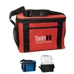 Promotional Custom Jumbo Kooler Bag - Polyester - 12 Cans