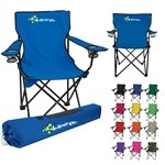 Promotional Nylon Folding Chair Multiple Color Choices