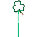Promotional Shamrock - Shape (pencils)