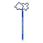 Promotional Puzzle Pieces 2 InkBend Standard(TM) Shaped Pens