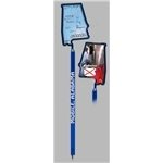 Promotional Alabama - Billboard InkBend Standard(TM) Shaped Pens