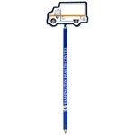 Promotional Ambulance - Billboard InkBend Standard(TM) Shaped Pens