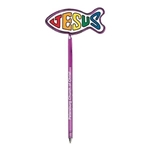 Promotional Fish / Christian - Billboard InkBend Standard(TM) Shaped Pens