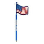 Promotional Flag / USA - Billboard(TM) InkBend Standard(TM) Shaped Pens