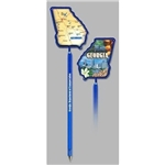 Promotional Georgia - Billboard InkBend Standard(TM) Shaped Pens
