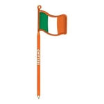Promotional Ireland Flag - Billboard InkBend Standard(TM) Shaped Pens