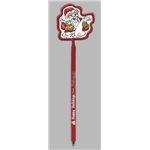 Promotional Santa - Billboard InkBend Standard(TM) Shaped Pens