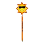 Promotional Sun - Billboard InkBend Standard(TM) Shaped Pens