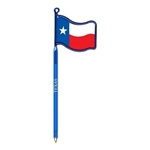 Promotional Texas Flag - Billboard InkBend Standard(TM) Shaped Pens