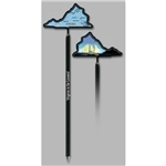 Promotional Virginia - Billboard InkBend Standard(TM) Shaped Pens