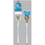 Promotional Toilet Flip Pen - Billboard InkBend Standard(TM) Shaped Pens