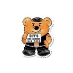 Promotional Biker Bear Design - A - Bear Magnet