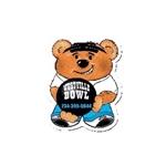 Promotional Bowling Bear Design - A - Bear Magnet