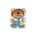 Promotional Chemist Bear Design - A - Bear Magnet