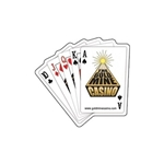 Promotional Cards / poker Hand Die - cut Magnet