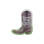 Promotional Cowboy Boot Die - cut Magnet