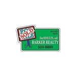 Promotional Sold Sign Die - cut Magnet
