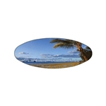 Promotional Beach - Die Cut Magnets