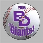 Promotional Baseball Die - cut Magnet
