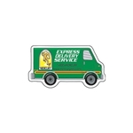 Promotional Delivery Van Die - cut Magnet