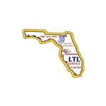 Promotional Florida - Die Cut Magnets