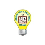 Promotional Lightbulb - Die Cut Magnets