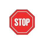 Promotional Stop Sign - Die Cut Magnets