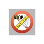 Promotional Stop Smoking - Die Cut Magnets