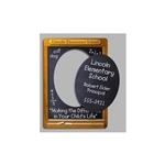 Promotional Chalkboard Frame Magnets