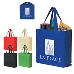 Promotional Non - Woven Foldable Shopper Tote
