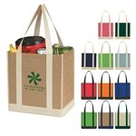 non-woven-two-tone-shopper-tote-bag