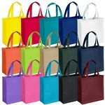 Promotional Non Woven Color Vista Multi Color Abe Tote Bag 13 X 13
