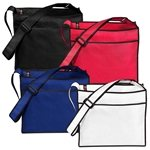 Promotional Non Woven Color Vista Multi Color Elite Tote Bag 14 X 12
